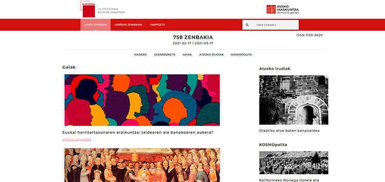 Publicado el número 758 de Euskonews
