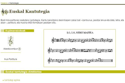 Euskal Kantutegia